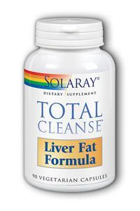 Solaray: Total cleanse liver fat formula 90 ct Vcp