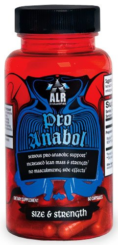ALR INDUSTRIES: PRO ANABOL 60 CAPSULES