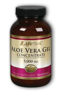 Life Time: Aloe Vera Gel 5000mg 90 ct Sg