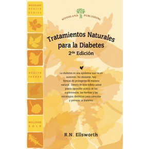 Woodland Publishing: Trata. Natur. para la Diabetes 2da. Edicion (Spanish) 52 pgs