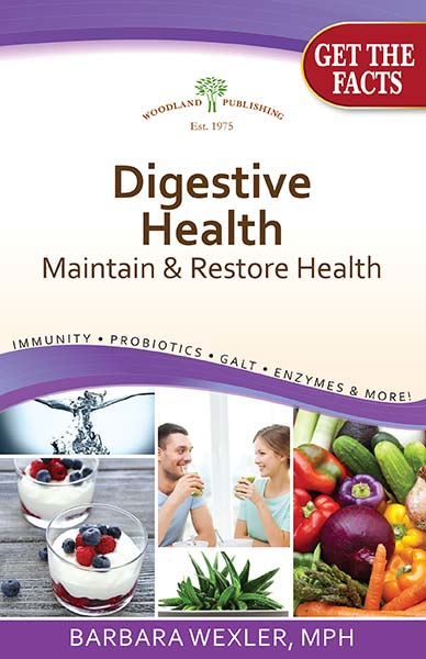 Digestive Health 30 pgs Book from Woodland publishing