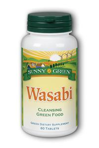 Sunny Green: Wasabi Cleansing Green Food 60 Tablets
