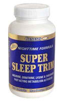 GENESIS NUTRITION PRODUCTS: SUPER SLEEP TRIM NIGHT TIME 100 tabs