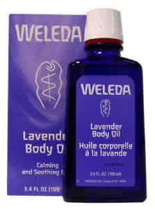 WELEDA: Lavender Body Oil 3.4 fl oz
