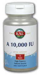 Kal: A 10,000 - flo 100ct 10000mg