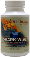 FOODSCIENCE OF VERMONT: Shark-Wise 100 caps