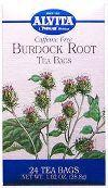 ALVITA TEAS: Burdock Root Tea 24 bags