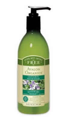 AVALON ORGANIC BOTANICALS: Liquid Soap Organic Rosemary 12 fl oz
