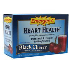 ALACER: Emer'gen-C® Heart Health  Black Cherry 30 pkts