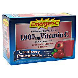 ALACER: EMERGEN-C  CRANBERRY POMEGRANATE 30PKT