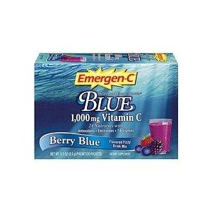 ALACER: EMERGEN-C HEALTH ENERGY BOOST BLUE 30PKT