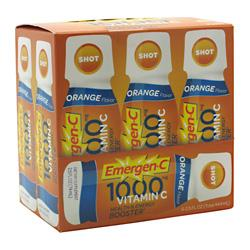 ALACER: EMERGEN-C ORANGE SHOT 6PK