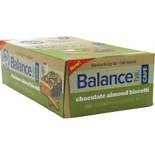 BALANCE BAR COMPANY: BALANCE BAR CHOCOLATE ALMOND BISCOTTI 15 BOX