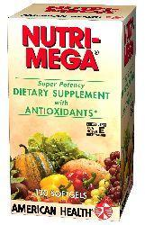 AMERICAN HEALTH: Nutri Mega Super Potency 120 softgels