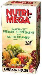 AMERICAN HEALTH: Nutri Mega Super Potency 60 softgels