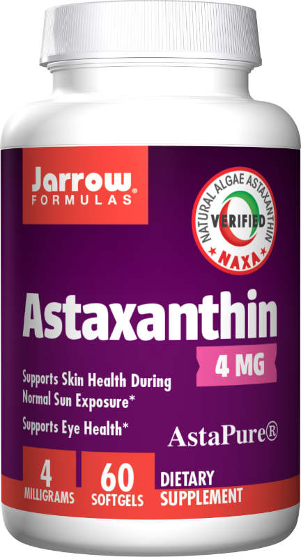 Astaxanthin 4 MG 60 SOFTGELS from JARROW
