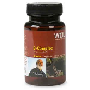 WEIL NUTRITIONALS: Weil Vitamin B Complex 90 tabs