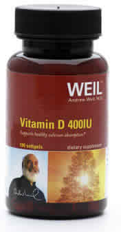 WEIL NUTRITIONALS: Weil Vitamin D 1000 UI 100 softgels