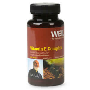 WEIL NUTRITIONALS: Weil Vitamin E Complex 30 vegicaps