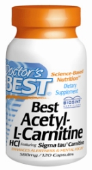 Best Acetyl-L-Carnitine 588mg, 120c