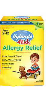 HYLANDS: ALLERGY RELIEF 4 KIDS 125CT