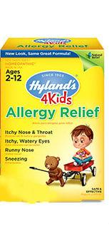 HYLANDS: ALLERGY RELIEF 4 KIDS 125CT