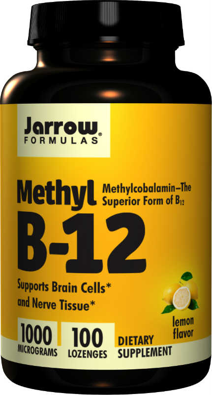 Methyl B12 Methylcobalamin 1000 MCG, 100 lozenges