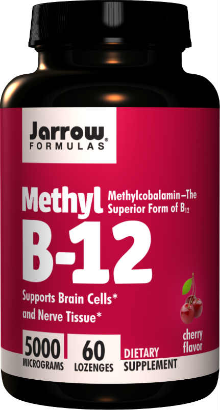 Methyl B12 Methylcobalamin 5000 MCG, 60 lozenges