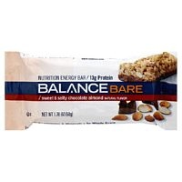 BALANCE BAR COMPANY: BALANCE BARE BAR CHOCOLATE ALMOND 15 BOX
