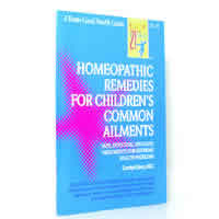 Books and Media: Homeopathic Remedies  100 Children's Ailments Dean