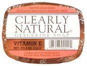 Clearly Natural Glycerine Bar Soap Vitamin E, 4 oz