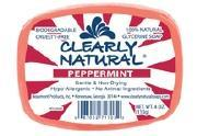 CLEARLY NATURAL: Clearly Natural Glycerine Bar Soaps Peppermint 4 oz