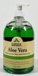 CLEARLY NATURAL: Clearly Natural Liquid Pump Soap-Aloe Vera 12 oz