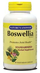 Boswellia Extract caps Standardized, 90 VEGI
