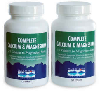 Trace Minerals Research: Complete Cal Mag 1 to 1 120 tabs
