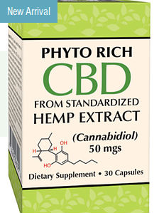 Phyto Rich CBD Hemp Extract 50 mg, 30 CAP
