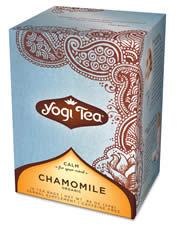 YOGI TEAS/GOLDEN TEMPLE TEA CO: Chamomile Tea 16 bags