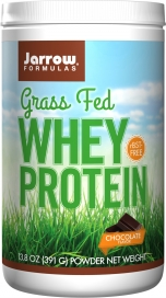 Jarrow: Whey Protein Grass Fed Chocolate 391 GM