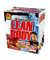 LABRADA BODYBUILDING NUTRITION: LEAN BODY CHOC. 2.9 OZ 20  PACK 20 BOX