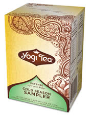 YOGI TEAS/GOLDEN TEMPLE TEA CO: Cold Season Tea Sampler 16 bags