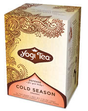 YOGI TEAS/GOLDEN TEMPLE TEA CO: Cold Season Tea 16 bags