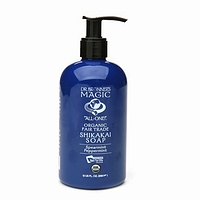 dr. bronner's magic soaps: ORG LIQUID HAND SOAP SPEARMINT PEPPERMINT 12OZ