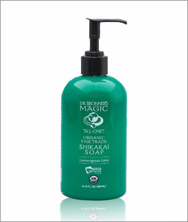 DR. BRONNER'S MAGIC SOAPS: ORG LIQUID HAND SOAP LEMON GRASS LIME 12OZ