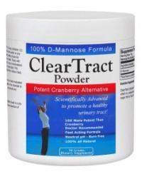 Clear tract powder