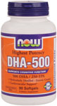 NOW: DHA 500mg 90 Softgels