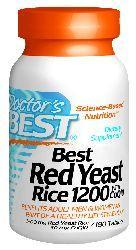 Doctors Best: Best Red Yeast Rice 1200 with CoQ10 180T