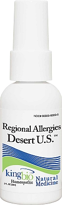 KING BIO: REGIONAL ALLERGY DESERT US 2OZ