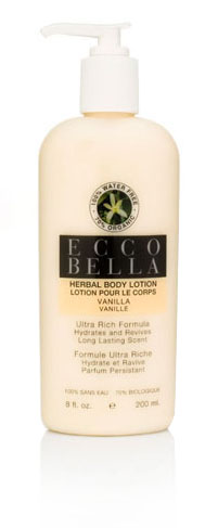 ECCO BELLA: Herbal Body Lotion Vanilla 8.5 oz