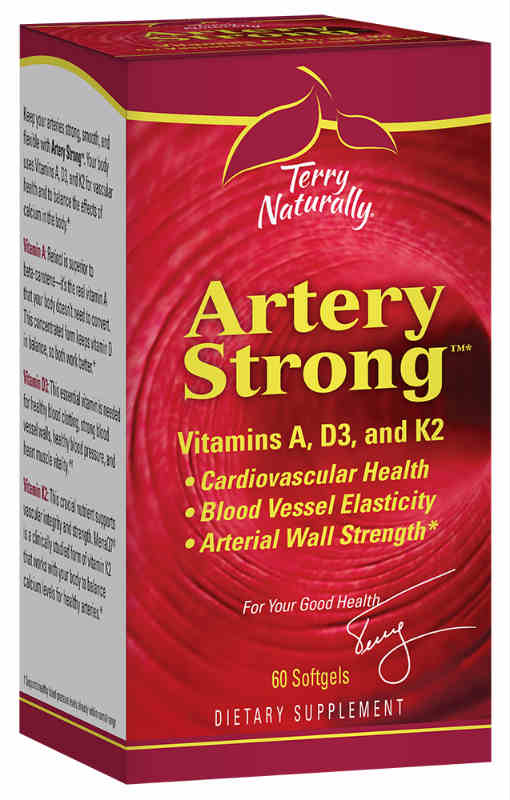 Europharma / Terry Naturally: Artery Strong 60 Soft gels