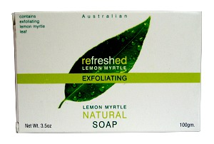 TEA TREE THERAPY INC: Lemon Myrtle Natural Soap Exfoliating 3.5 OZ